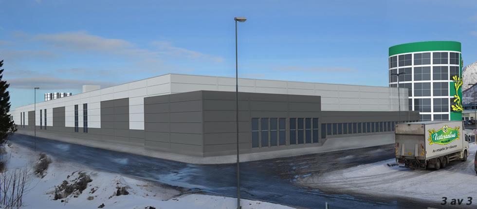 Ny fiskebollefabrikk