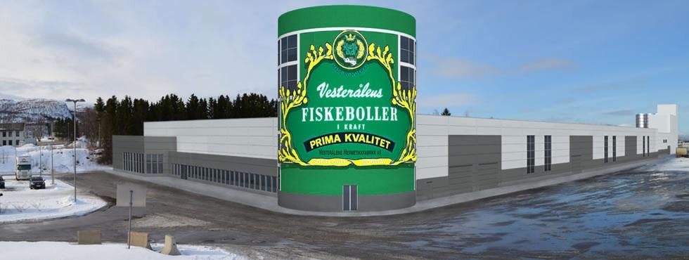 Ny fabrikk på Sortland